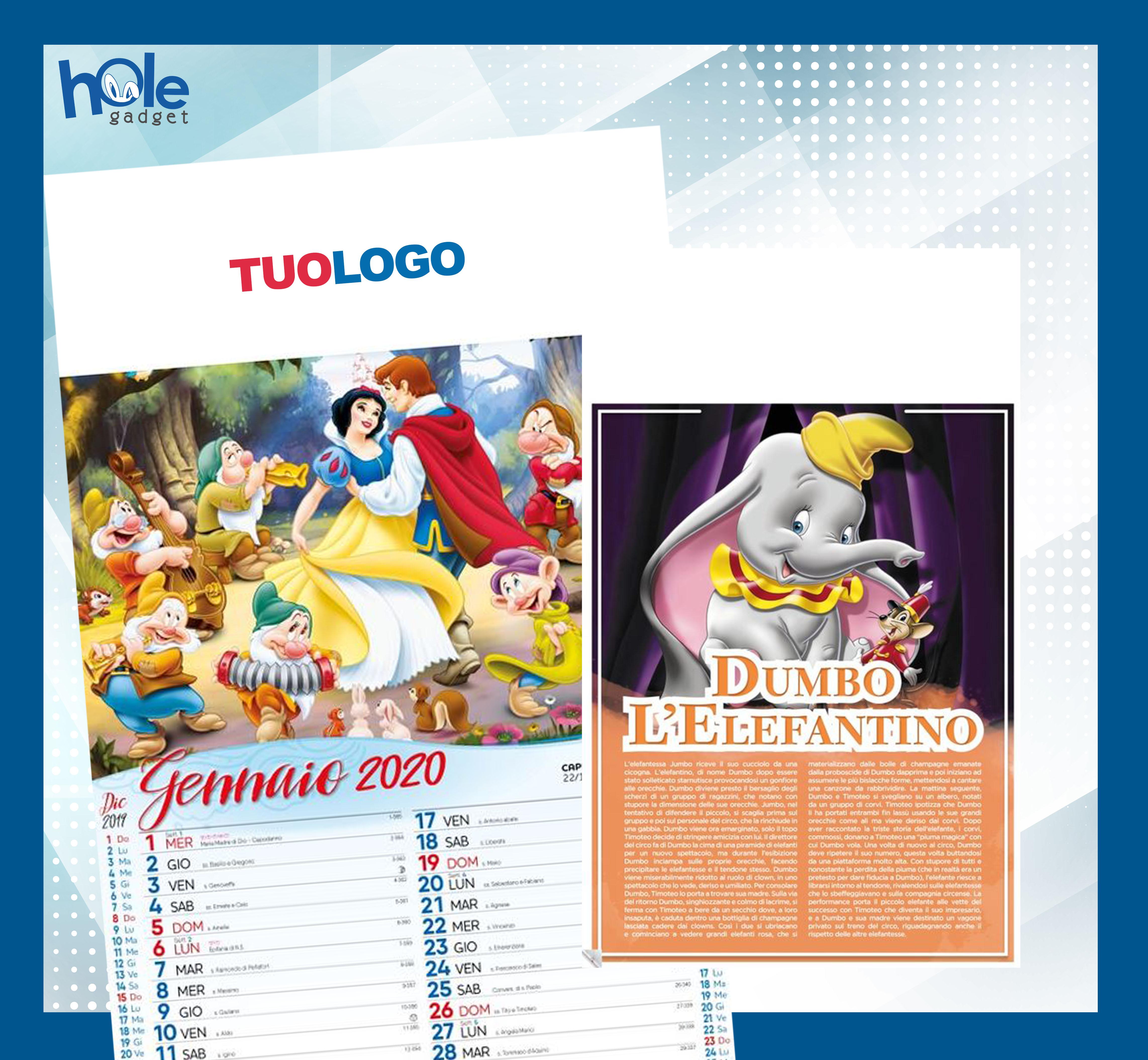 Calendario Illustrato.Dettagli Su Calendari Personalizzati 2020 Pubblicitario Illustrato Da Parete Muro Disney