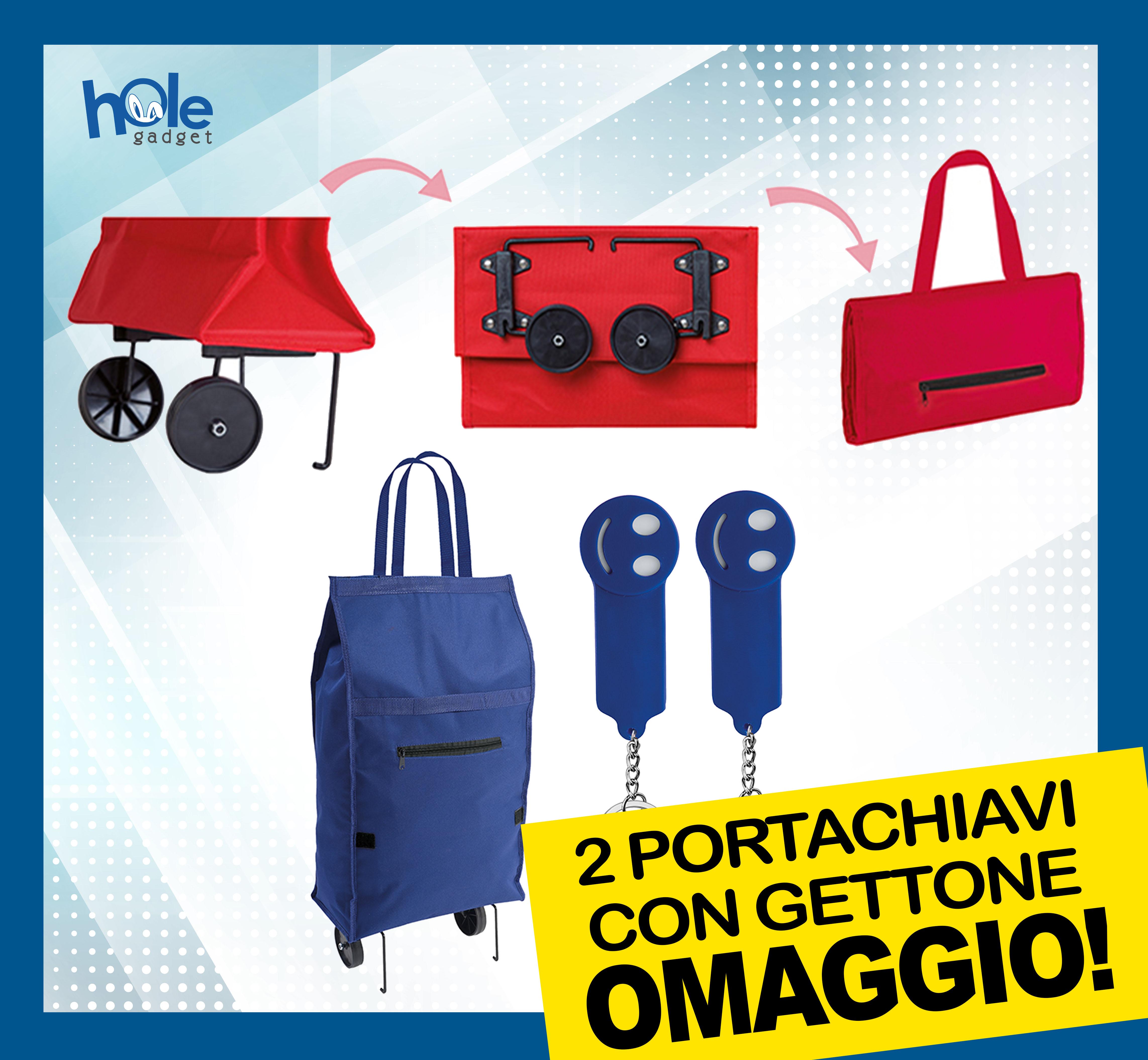 Carrello porta valigia pieghevole e richiudibile in acciaio portavaligie pacchi
